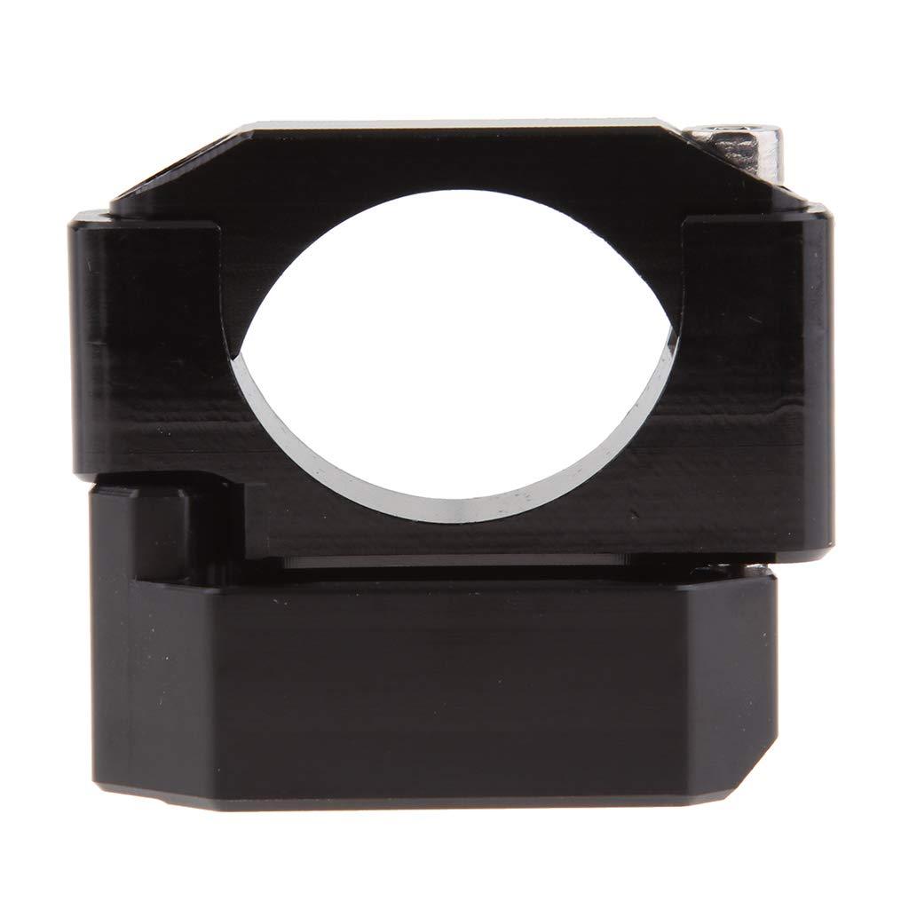 Black D DOLITY Motorcycle Gauge Trim Gear Display Speed Indicator Bracket Mount Tool Fits 22-28.6mm