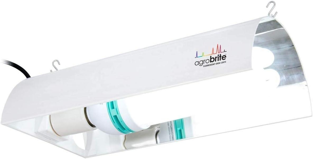 Hydrofarm Agrobrite FLCDG125D CFL System w/ Bulb