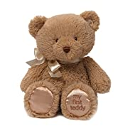 Baby GUND My First Teddy Bear Stuffed Animal Plush in Brown, 10