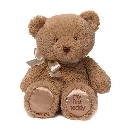 Brown Plush Bear (Gund My First Teddy Bear Baby Stuffed Animal, 10 inches)