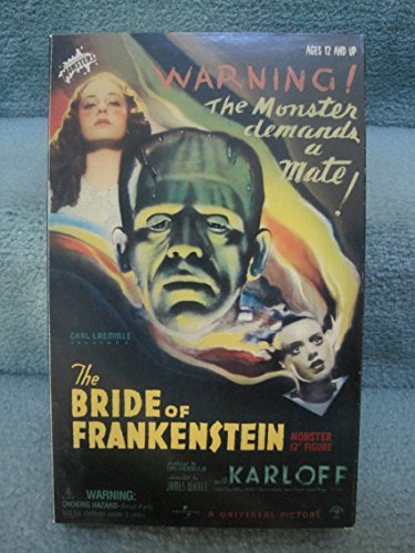 Sideshow Boris Karloff as The Monster from Bride of Frankenstein 12 inch Figure