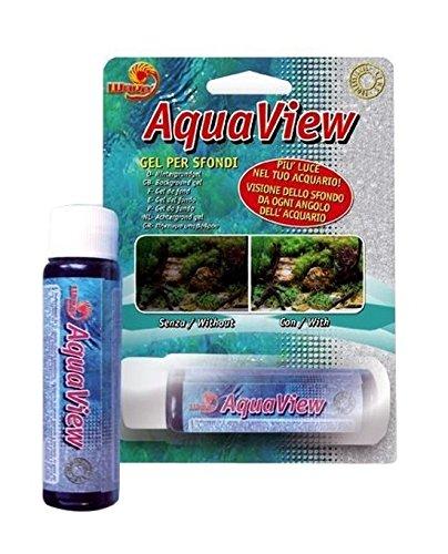 AquaView - Gel para fondos de peceras. Específico para montar y fijar el fondo de las peceras: Amazon.es: Deportes y aire libre