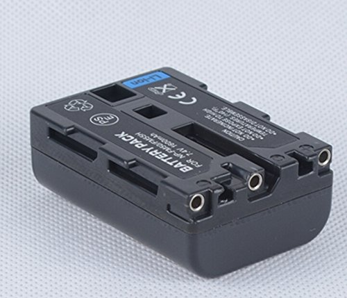Battery Pack for Sony NP-FM30, NP-FM50 and Sony Cyber-shot DSC-F707, DSC-F717, DSC-F828, DSC-R1, DSC-S30, DSC-S50, DSC-S70, DSC-S75, DSC-S85 Digital Camera and Sony MVC-CD200, MVC-CD250, MVC-CD300, MVC-CD350, MVC-CD400, MVC-CD500 Mavica Digital Camera (Digital Camera Dsc S85)