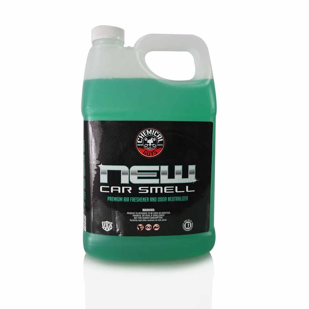 Car interior accessories for guys - Chemical Guys Air_101 New Car Smell Premium Air Freshener And Odor Eliminator 1 Gal