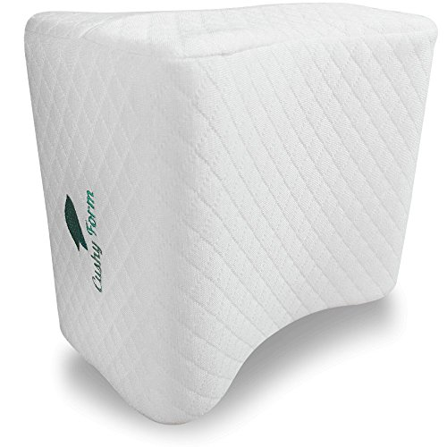 Cushy Form Knee Pillow for Side Sleepers - Sciatic Nerve...