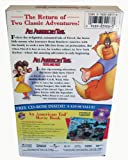 American Tail/American Tail-Fievel Goes West (2 pack) [VHS]