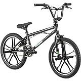 20' Mongoose Mode 270 Boys' Freestyle Bike, Black