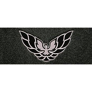 Amazon Com Pontiac Trans Am Medium Grey Carpet Floor Mats