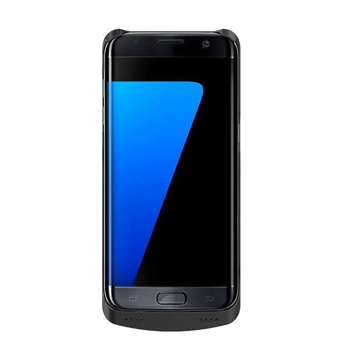 S7 Edge recargable caso,ALCLAP 5200 mAh cargador de batería ...