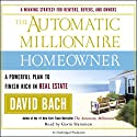 The Automatic Millionaire Homeowner Audiobook by David Bach Narrated by Gavin Hammon