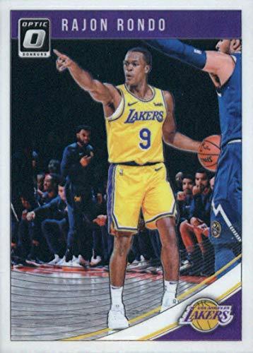 (2018-19 Donruss Optic #74 Rajon Rondo NM-MT Los Angeles Lakers Official NBA Basketball Trading Card)