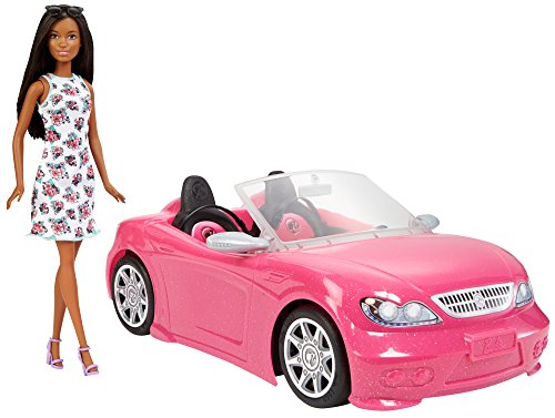 Barbie Doll & Convertible Vehicle Doll & Car