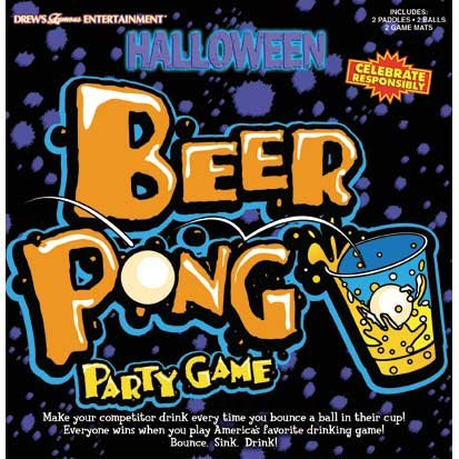 Halloween Punch Pong Party Game by Party America