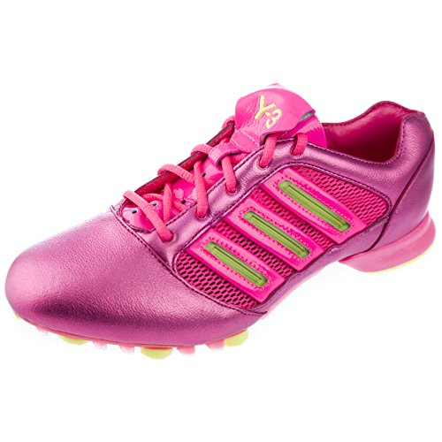 Y-3 by Yohji Yamamoto Men's Track & Field A6 Statesmen Training Shoes Size 4.5 Neon Pink