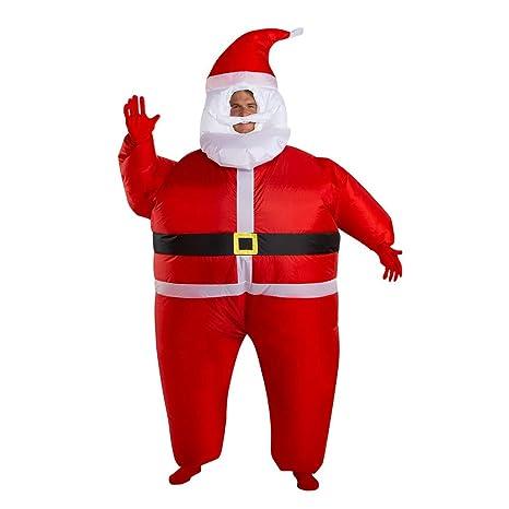 Amazon.com: Wondershop - Disfraz hinchable de Papá Noel ...