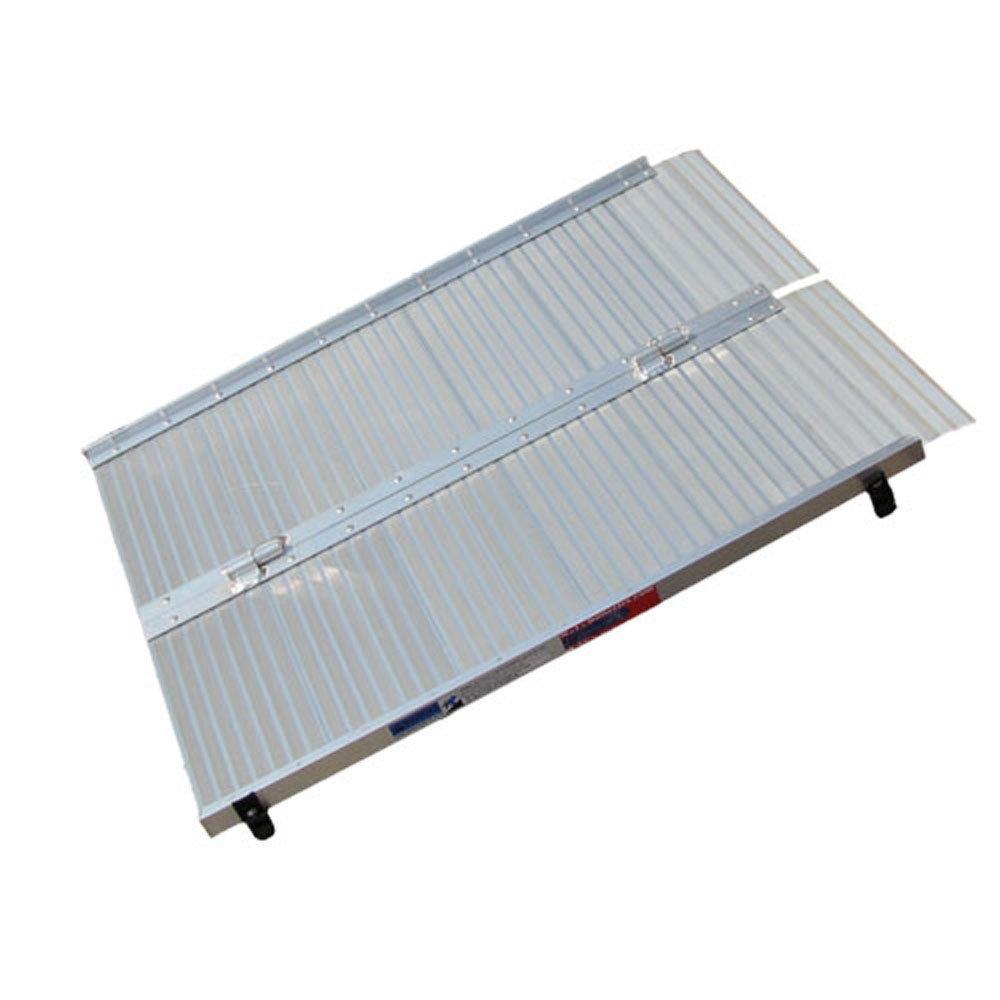 Motoproducts Aluminum Folding 3' Long Wheelchair Ramp