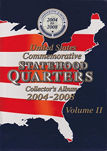 (2004-2008 WASHINGTON STATEHOOD QUARTER 7X10
