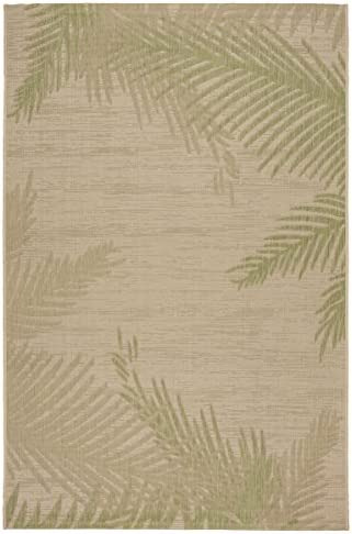 LR Home Captiva Verdant Palms Indoor/Outdoor Area Rug