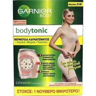 garnier-bodytonic-beige-shorty-reductor-slimming-leggings-l-xl