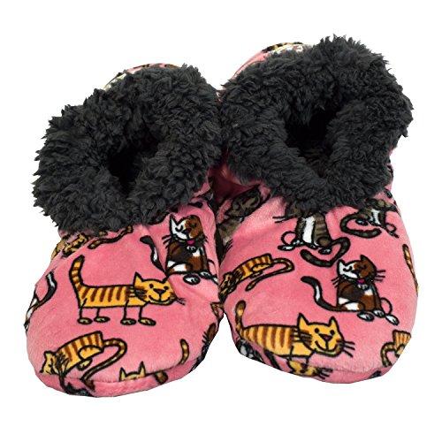 Womens Fuzzy Slippers Soft Slippers Fuzzy Feet by Nap Feet LazyOne House Plush Fuzzy Ladies Cat rwBHq8vrn