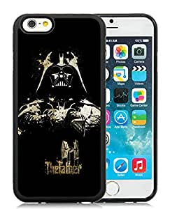 Customized The God Father Darth Vader iPhone 6 4.7 Inch TPU Black Case