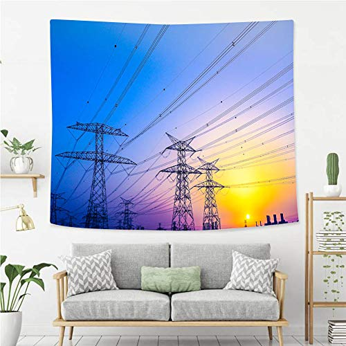 BEIVIVI Wall Tapestry Wall Hanging Electrical Pylons for sale  Delivered anywhere in USA