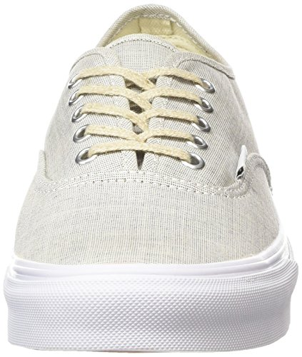 Vans Gray Grigio True Slim Scarpe da White Chambray Basse Authentic Unisex Adulto Ginnastica pvrxwp8q