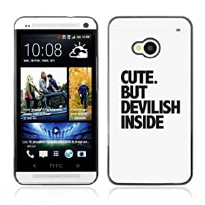 YOYOSHOP [Cute Message] HTC One M7 Case