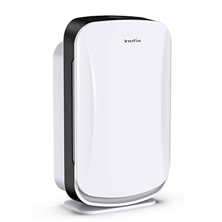 Inofia Air Purifier with True HEPA Air Filter, Air Cleaner for Large Room, for Spaces Up to 600 Sq Ft, Perfect for Home Office with Filter