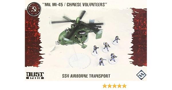 """SSU Airborne Transport Dust Tactics Chinese Volunteers/"""" /""""MIL MI-45"""