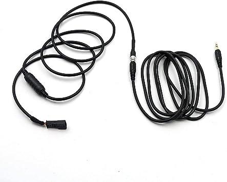 Valuetom 3 5 Mm Aux Audio Cable Adapter For Bm54 E39 E46 E53 X5 16 9 Cd Changer Auto