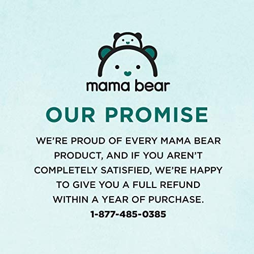 51hXEI2FDoL. AC - Amazon Brand - Mama Bear Gentle Fragrance-Free Baby Wipes, Hypoallergenic, 800 Count, 100 Count (Pack Of 8)