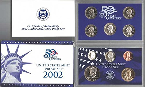 2002 S US PROOF Set In original packaging from mint - Proof Set Mint Us