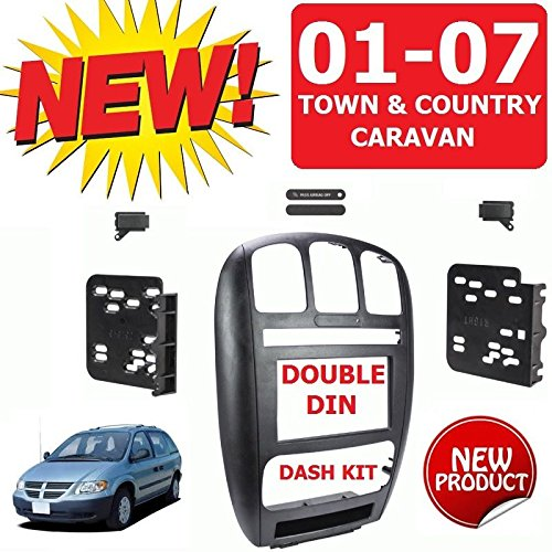 01 02 03 04 05 06 07 CARAVAN / TOWN & COUNTRY Car Radio Stereo Installation Double Din Dash Kit