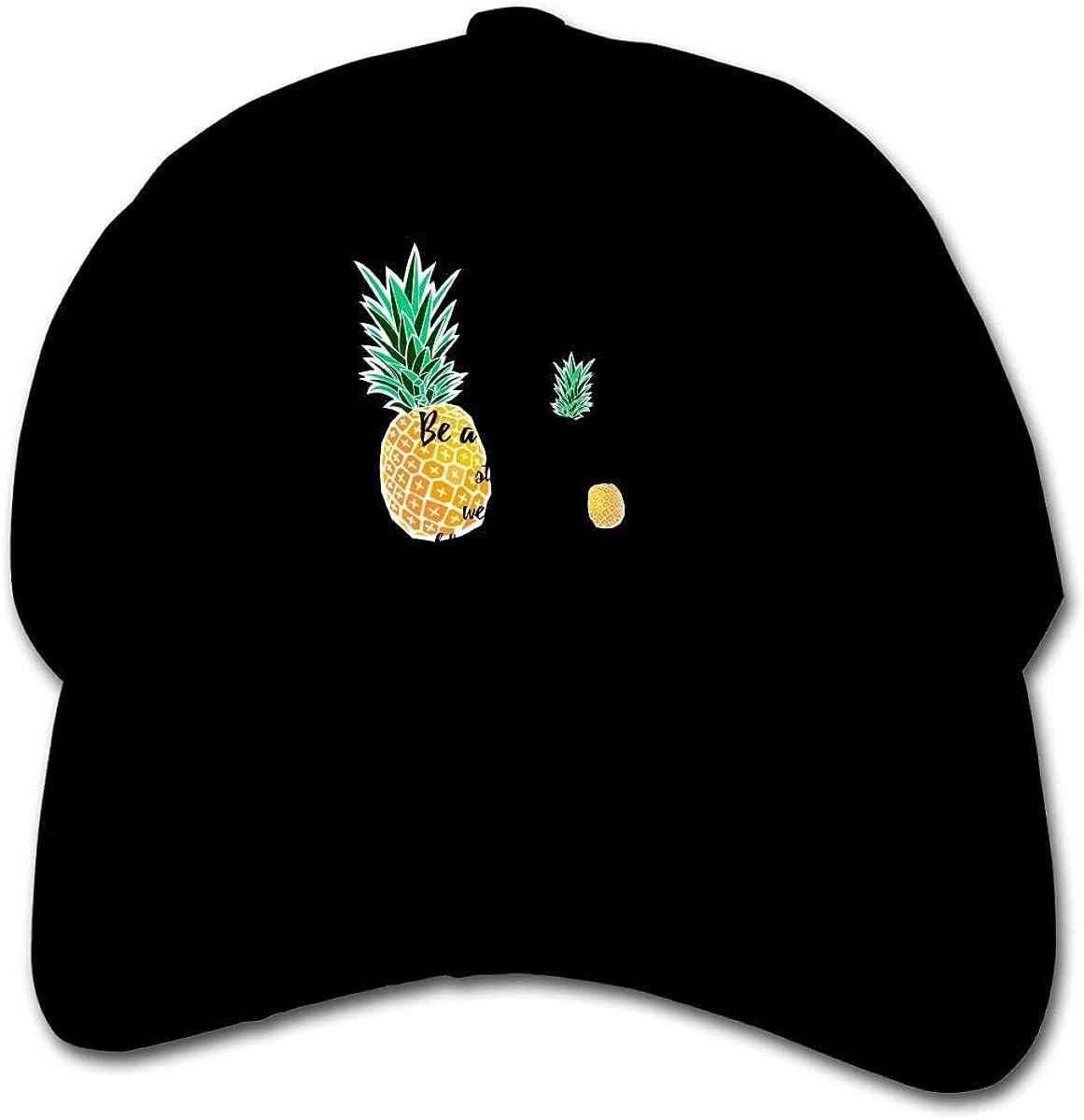 Be A Pineapple Kids Baseball Cap Hat Unisex Toddler Sun Hat Adsjutable Trucker Hat