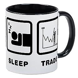 CafePress - Forex / Stock Trader Mug - Unique Coffee Mug, Coffee Cup