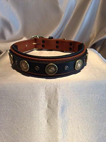 ShotGun Willie custom padded 4 layer dog collar