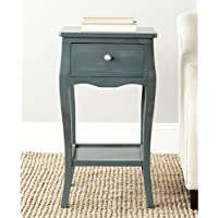 Safavieh American Homes Collection Thelma Steel Teal End Table