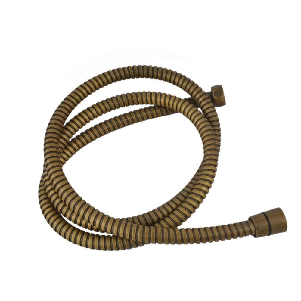 Y/·z-Flessibili Doccia Tubo Flessibile per Doccia A Mano in Ottone Anticato da 59Hipe Flessibile 150 Cm