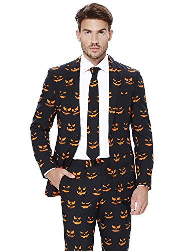 OppoSuits Halloween Costumes for Men - Full Suit: Includes Jacket, Pants and Tie