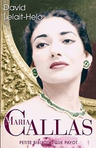 Maria Callas par David Lelait-Helo