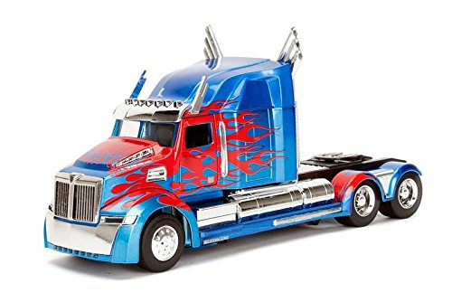 Transformers Metal Toy (Metals Transformers Optimus Prime 1:24 Diecast Vehicle)