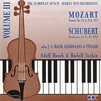 Mozart: Sonata N.25 Schubert: Fantasie