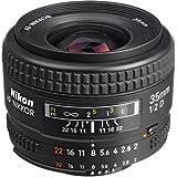 Nikon AF FX NIKKOR 35mm f/2D Fixed Zoom Lens with Auto Focus for Nikon DSLR Cameras International Version (No warranty)