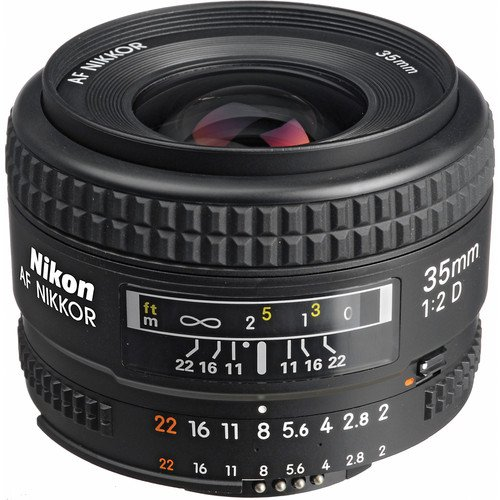 (Nikon AF FX NIKKOR 35mm f/2D Fixed Zoom Lens with Auto Focus for Nikon DSLR Cameras International Version (No Warranty))