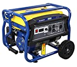 GENPAR Portable Power Generator set with 4000-watts Peak 3000-w...