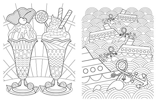 Posh Adult Coloring Book: Artful Designs for Fun & Relaxation ...