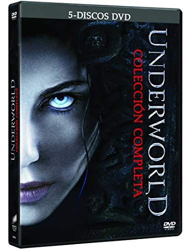 Underworld Pentalogy Ultimate Collection (Underworld (2003) / Awakening / Evolution / Rise of the Lycans / Blood Wars / -- Spanish Release