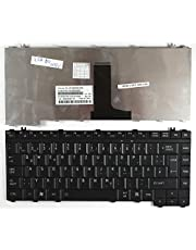 Keyboards4Laptops German Layout Black Replacement Laptop Keyboard Compatible with Toshiba Satellite L300