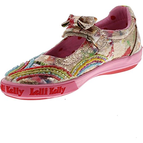 Kelly Multi Kids Lk9188 Fantasy Fashion Girls Lelli Shoes Mary Flats Jane A7Px1qSwqf